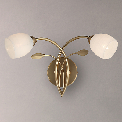 John Lewis Amara Two Arm Wall Light