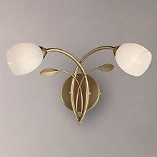 Buy John Lewis Amara Two Arm Wall Light Online at johnlewis.com