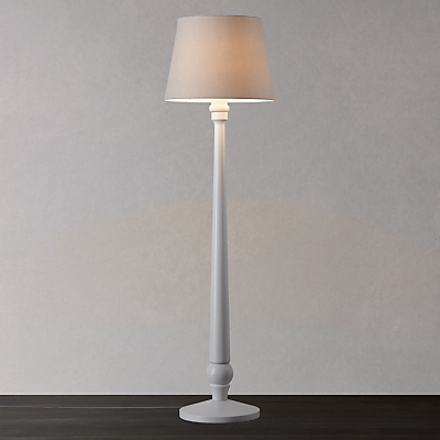 John Lewis Croft Carrow Matt Floor Lamp, Ivory