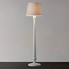 Buy John Lewis Croft Carrow Matt Floor Lamp, Ivory Online at johnlewis.com