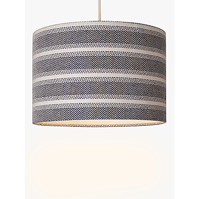 John Lewis Coastal Cotton Stripe Lampshade