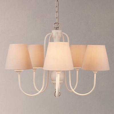John Lewis Carrow Ceiling Light, 5 Light, White