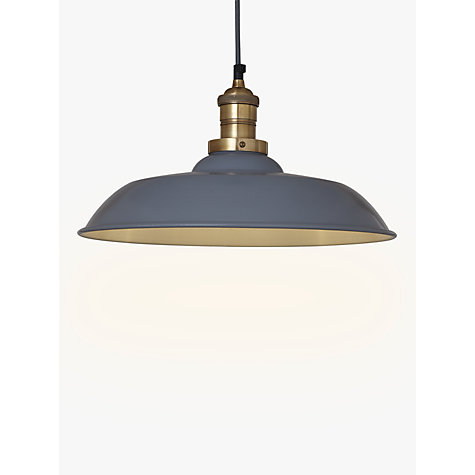 Buy John Lewis Croft Collection Clyde Brass Trim Ceiling
