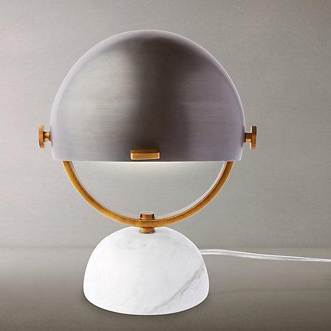 Buy west elm Clint Mini Task Desk Lamp, Marble Online at johnlewis.com