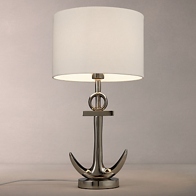 John Lewis Anchor Table Lamp, Antique Metal