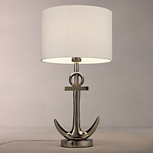 Buy John Lewis Anchor Table Lamp, Antique Metal Online at johnlewis.com