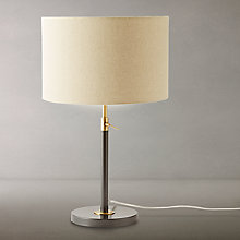Buy west elm Telescoping Table Lamp, Black Online at johnlewis.com
