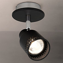 Buy John Lewis Byron GU10 LED Spotlight, Black Online at johnlewis.com
