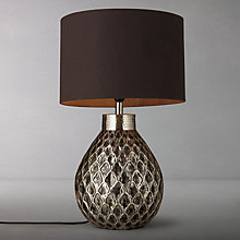Buy John Lewis Calbuco Patterned Base Table Lamp Online at johnlewis.com