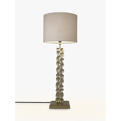 Pacific Lifestyle Fonteyn Sculptured Slim Rectangle Table Lamp, Champagne