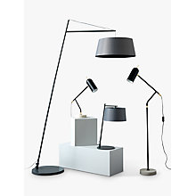 Buy John Lewis Charter LED Table Lamp, Black/Grey Online at johnlewis.com