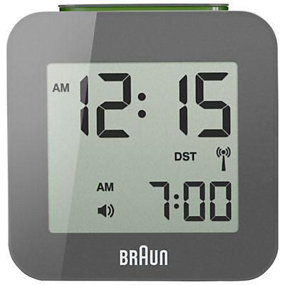 Image of Braun Radio Controlled Travel Global Alarm Clock