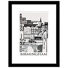 Buy Emma Hardicker - Birmingham, Framed Print, 43 x 33cm Online at johnlewis.com