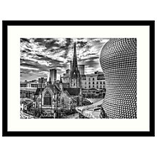 Buy Assaf Frank - Bullring and Cathedral Framed Print, 84 x 64cm Online at johnlewis.com