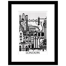Buy Emma Hardicker - London, Framed Print, 43 x 33cm Online at johnlewis.com