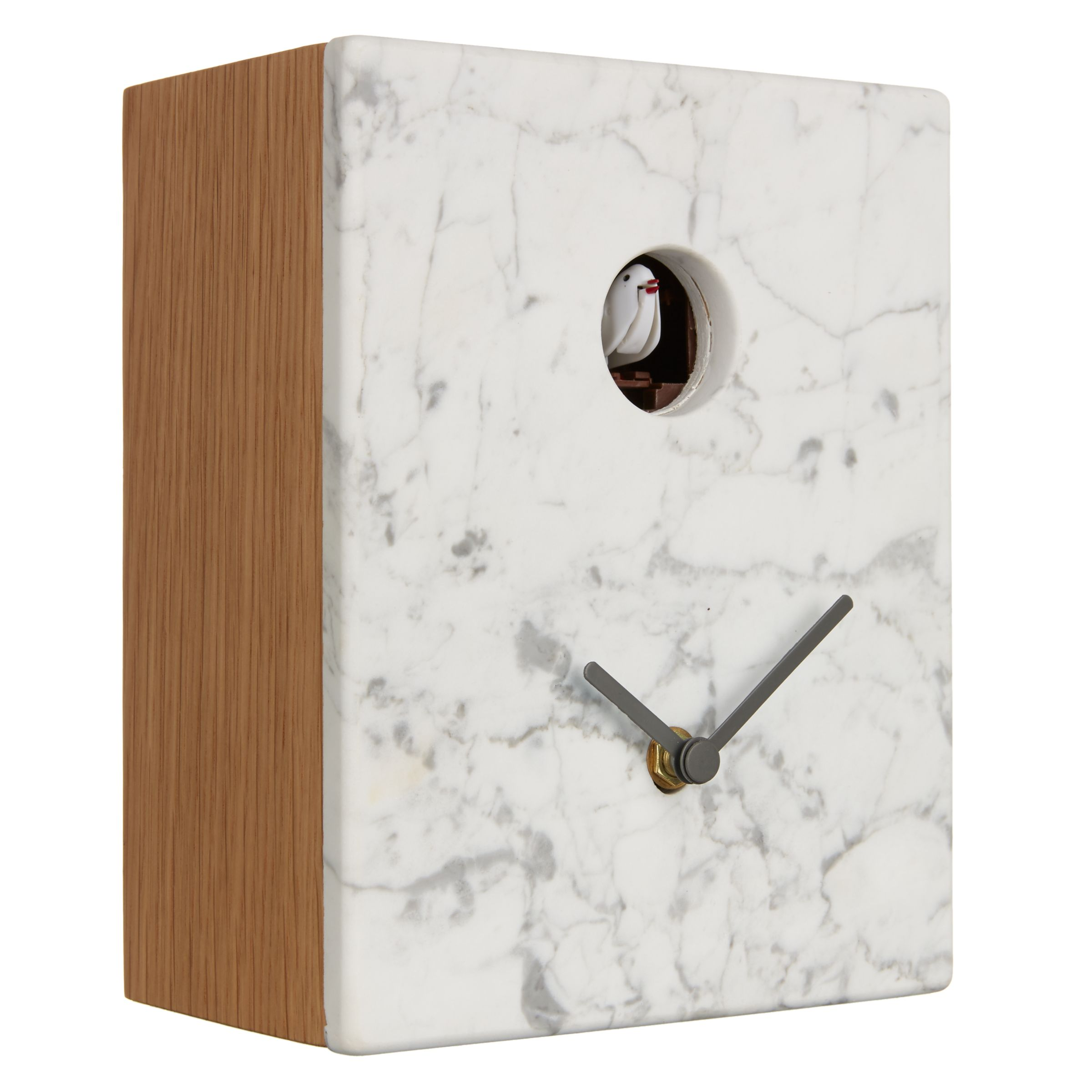 Diamantini & Domeniconi Diamantini & Domeniconi Portobello Marble Cuckoo Clock, 21 x 16cm