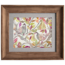 Buy Voyage - Pear Tree Autumn, Framed Print, 33.6 x W38.6cm Online at johnlewis.com