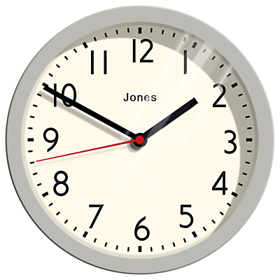 Image of Jones Cosmos Wall Clock, Dia. 25cm