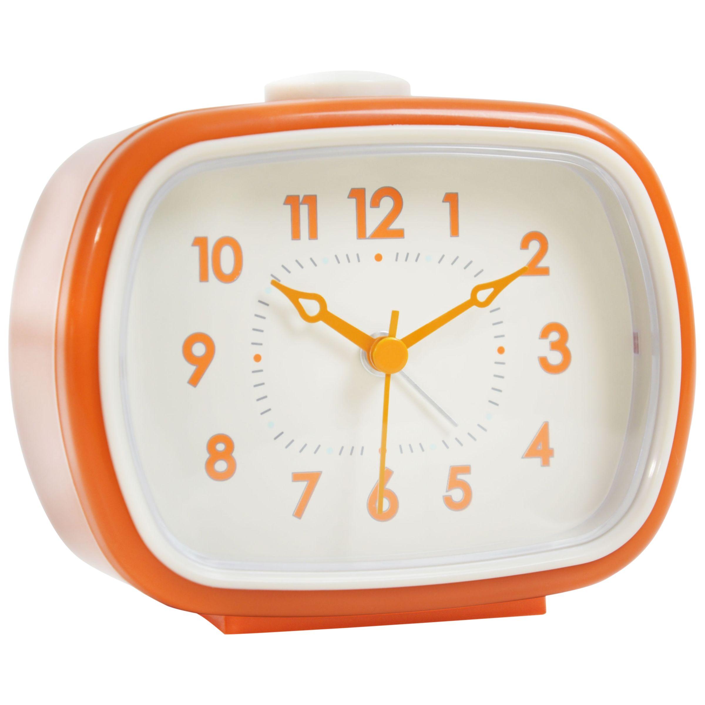 London Clock Company London Clock Company Retro Rectangle Alarm
