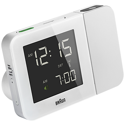 Image of Braun Projection Radio Controlled Alarm Clock