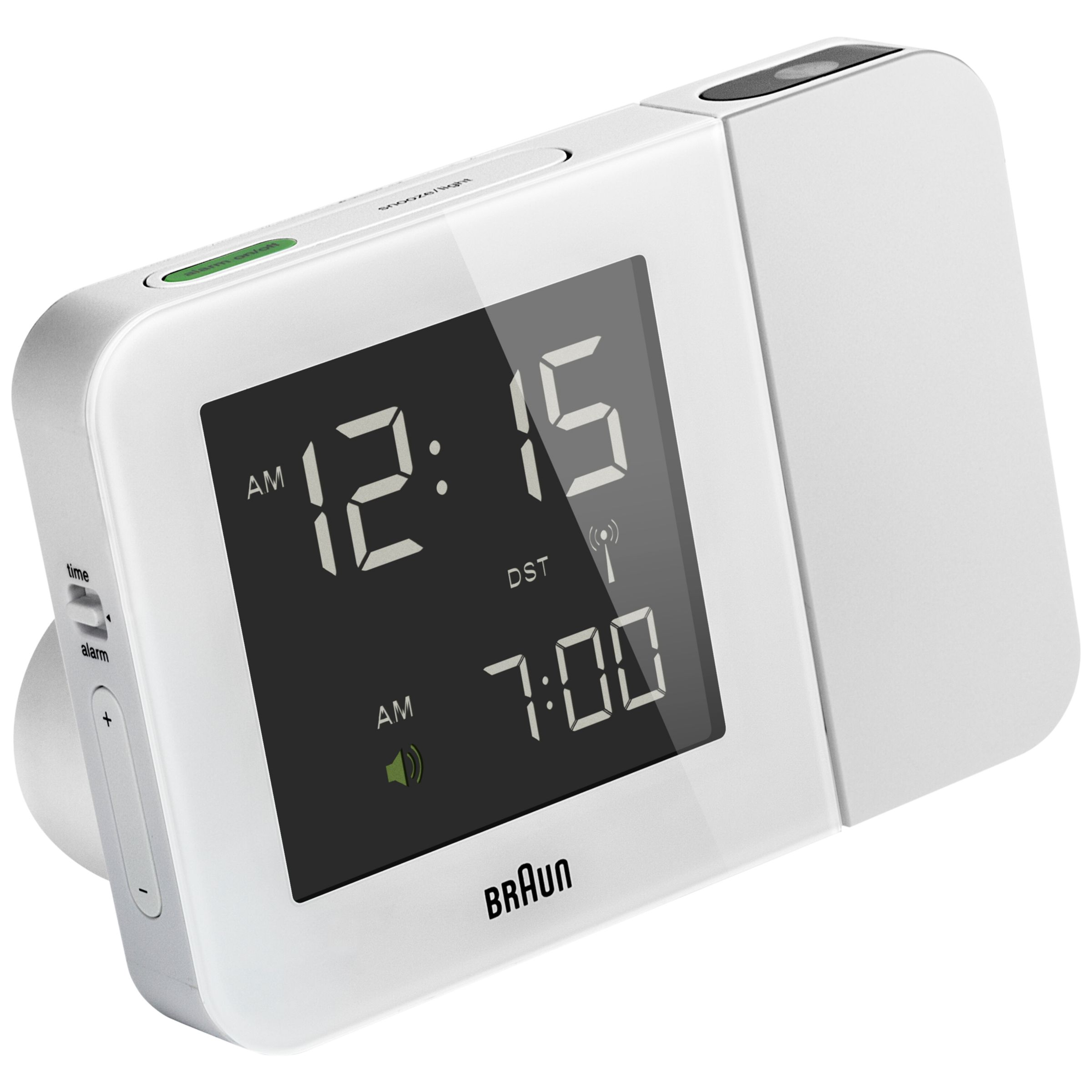 Braun Braun Projection Radio Controlled Alarm Clock