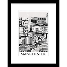 Buy Emma Hardicker - Manchester, Framed Print, 43 x 33cm Online at johnlewis.com