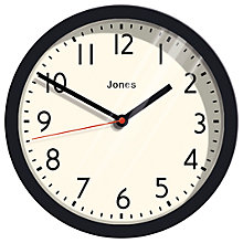 Buy Jones Cosmos Wall Clock, Dia. 25cm Online at johnlewis.com