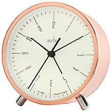 Buy Acctim Evo Alarm Clock, Copper Online at johnlewis.com