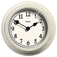 Buy Jones Aphrodite Wall Clock, 18cm Online at johnlewis.com
