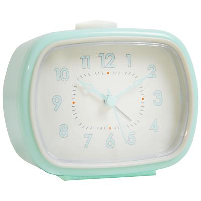 Image of London Clock Company Retro Rectangle Alarm