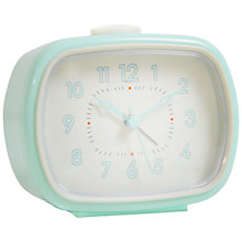 Buy London Clock Company Retro Rectangle Alarm Online at johnlewis.com