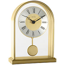 Buy Acctim Thurrock Mantel Clock, Gold Online at johnlewis.com
