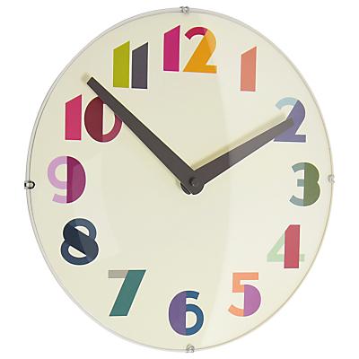 Image of London Clock Company Geo Domed Wall Clock, 30cm