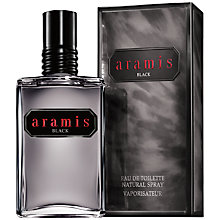 Buy Aramis Black Eau de Toilette Online at johnlewis.com