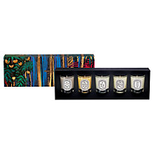 Buy Diptyque Scented Candle Set, 5 x 35g Online at johnlewis.com