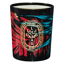 Buy Diptyque Liquid Ambar Scented Candle, 70g Online at johnlewis.com