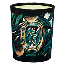 Buy Diptyque Sapin Scented Candle Online at johnlewis.com