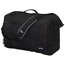 Buy Patagonia Transport M.L.C. Convertible 45L Shoulder Bag, Black Online at johnlewis.com