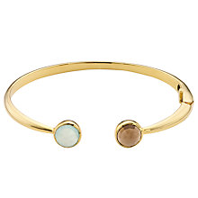Buy John Lewis 18ct Gold Plated Hinged Bangle Online at johnlewis.com
