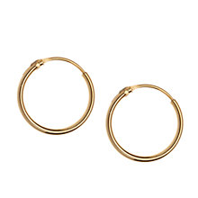 Buy Orelia Fine Mini Hoop Earrings Online at johnlewis.com