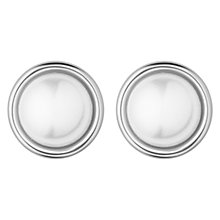 Buy Dyrberg/Kern Faux Pearl Stud Earrings Online at johnlewis.com