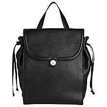 Buy Whistles Astor Backpack, Black Online at johnlewis.com