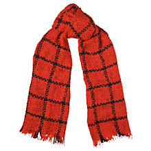 Buy Whistles Check Weave Blanket Scarf Online at johnlewis.com