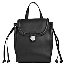 Buy Whistles Mini Astor Backpack, Black Online at johnlewis.com