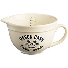 Buy Mason Cash Varsity Measuring Jug, 1L Online at johnlewis.com