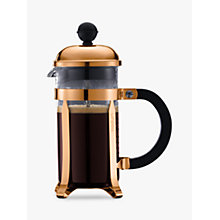 Buy Bodum Chambord Coffee Maker, 3 Cup Online at johnlewis.com
