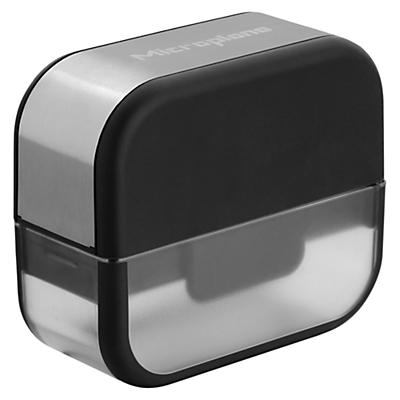Microplane Garlic Cutter, Black