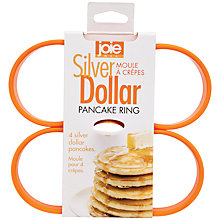 Buy Joie Silver Dollar Pancake Rings Online at johnlewis.com