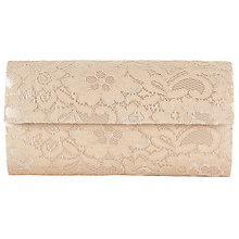 Buy John Lewis Foldover Lace Clutch Bag Online at johnlewis.com