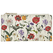 Buy John Lewis Canvas Pouch Purse, Floral Multi Online at johnlewis.com